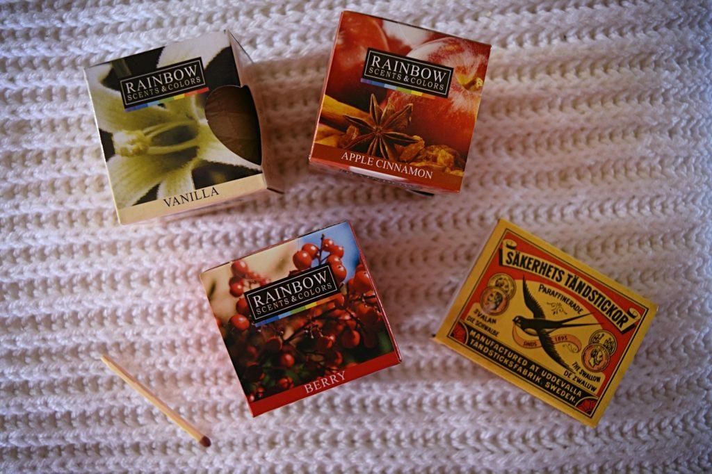 Rainbow scents & colors geurwaxen
