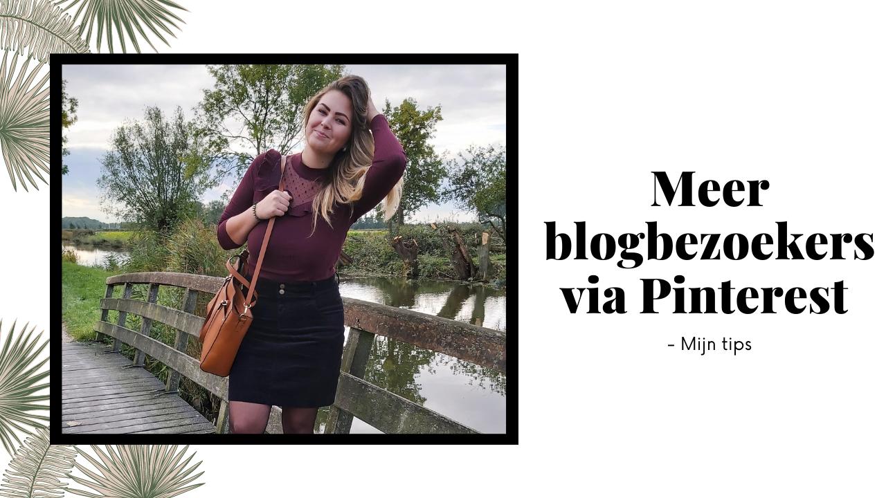 Meer blogbezoekers via Pinterest – mijn tips!