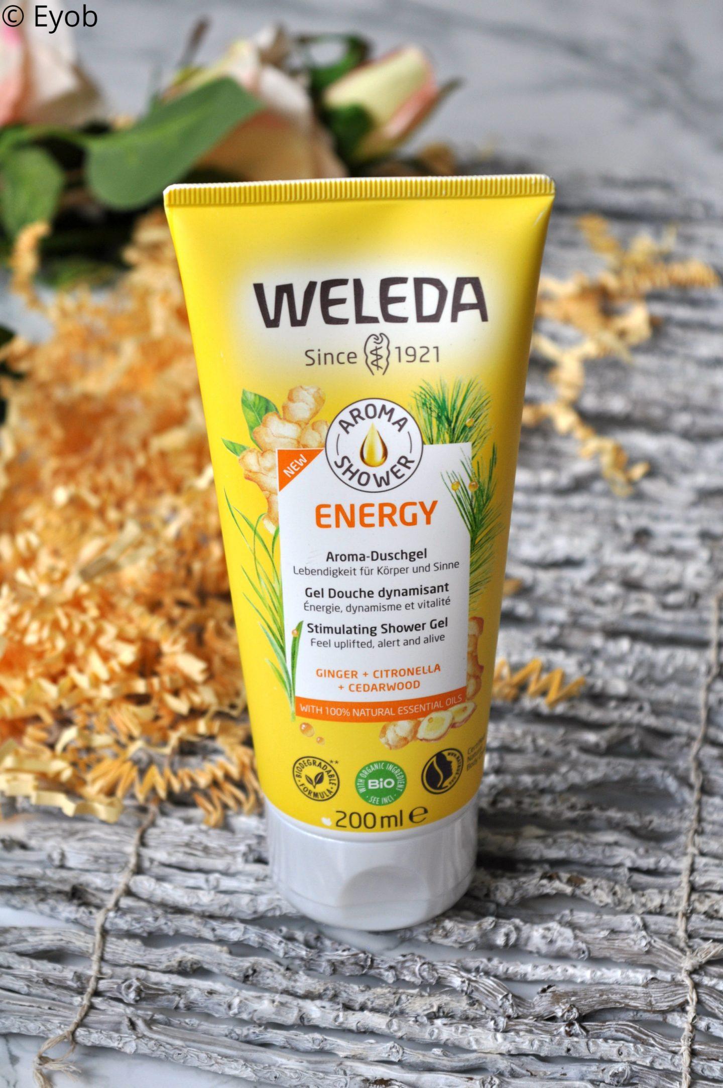 Weleda Energy Aroma Douchegel – Review